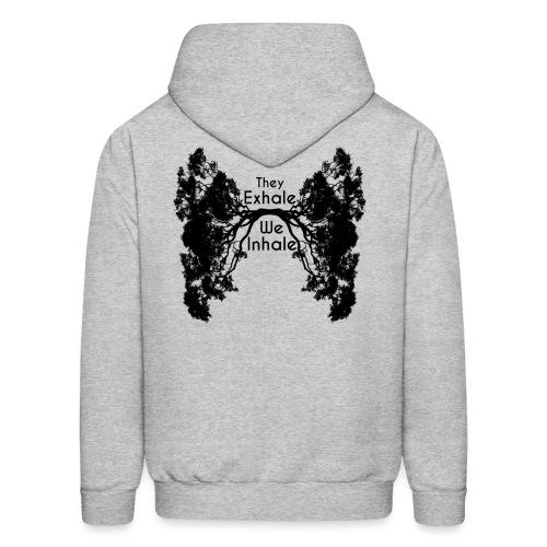 InhaleExhaleBlack - Men's Hoodie