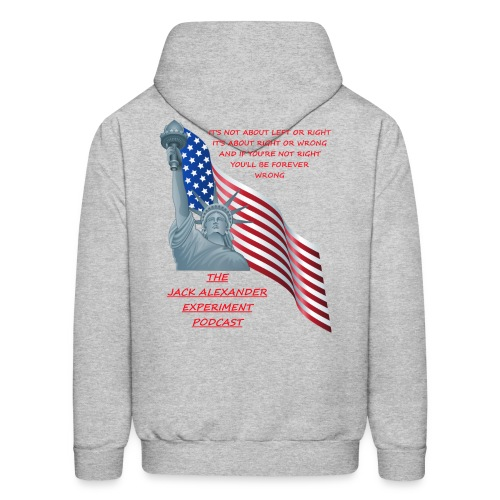 Liberty right wrong - Men's Hoodie