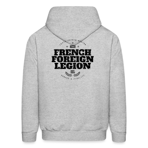 The French Foreign Legion - Black - Men's Hoodie