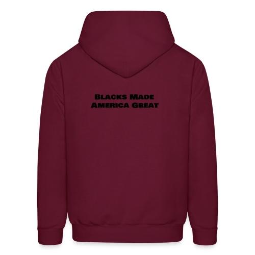 (blacks_made_america) - Men's Hoodie
