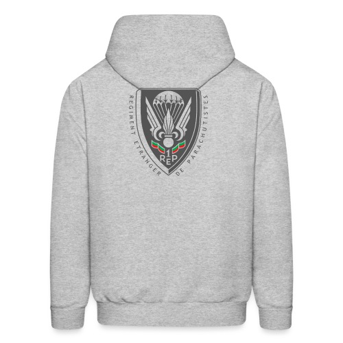 1er REP - Regiment - Badge - Dark - Men's Hoodie