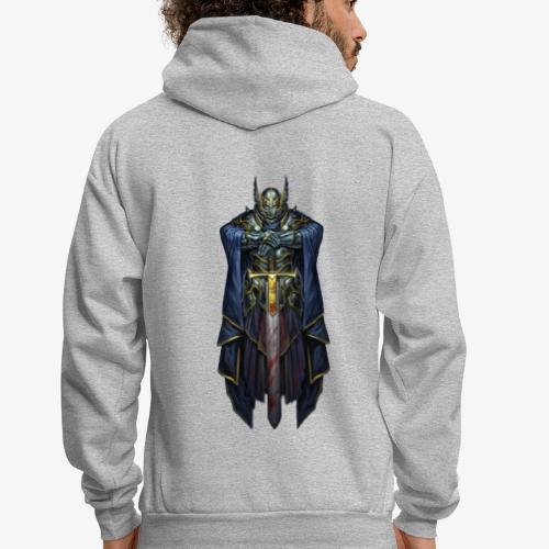 Titanium Templar Knight Logo - Men's Hoodie