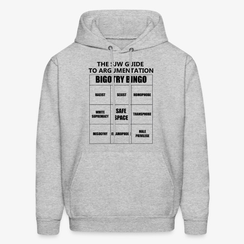 Bingo black - Men's Hoodie