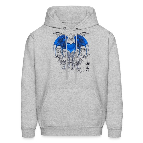 Winged Heart - Men's Hoodie