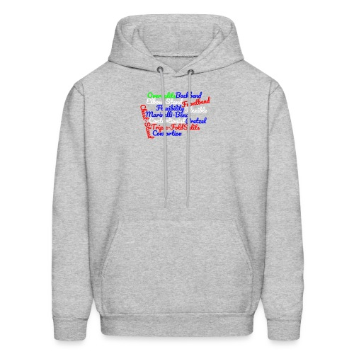 Contortion Art - Men's Hoodie