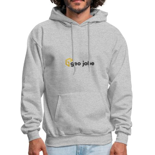 GEO Jobe Corp Logo - Black Text - Men's Hoodie