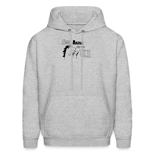 Say Agile one more time - Men's Hoodie
