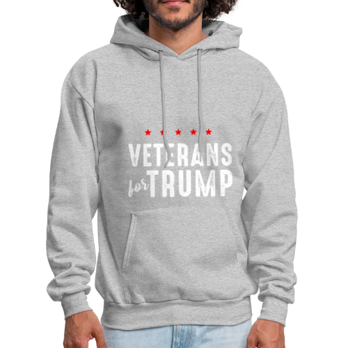 Veterans For Trump - Men's Hoodie