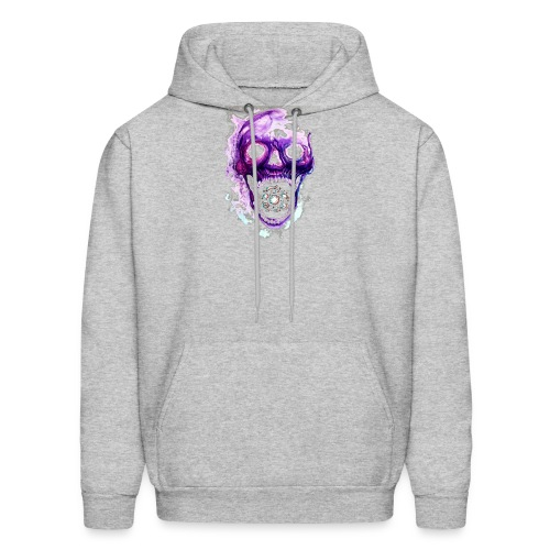 Skull vs galaxies - Men's Hoodie