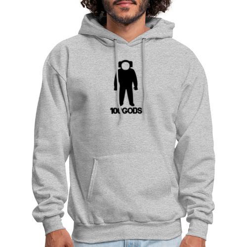 100GODS black logo - Men's Hoodie