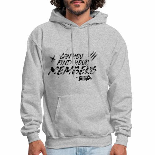 Can you Find Your Members (white) - Men's Hoodie