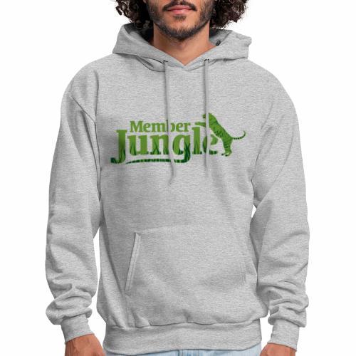 Member Jungle Logo (green) - Men's Hoodie