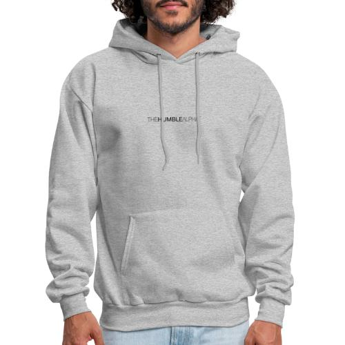 The Humble Alpha Black - Men's Hoodie