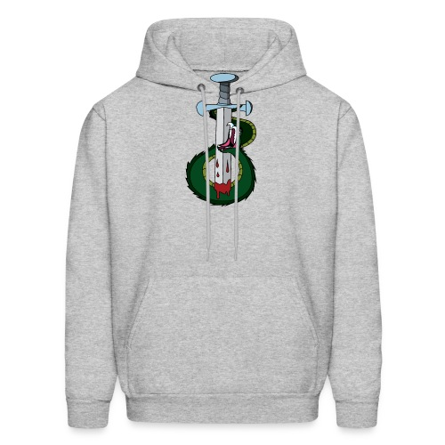 Snake and the sword - Men's Hoodie