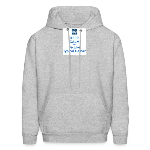 keep calm and be like typical gamer - Men's Hoodie