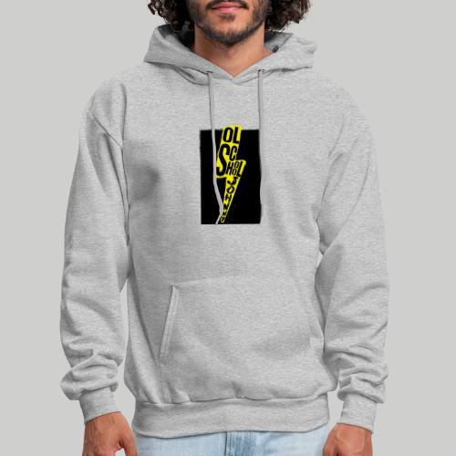 Ol' School Johnny Colour Lightning - Men's Hoodie