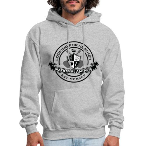Looking For Heather - National Anthem Crest - Men's Hoodie