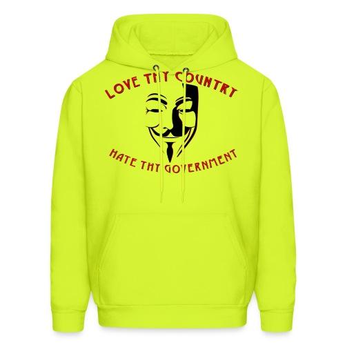 love thy country - Men's Hoodie
