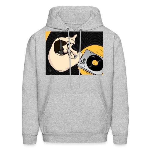 vinyl hires 01 png - Men's Hoodie