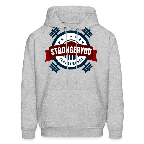 StrongerYouPersonalTraini - Men's Hoodie