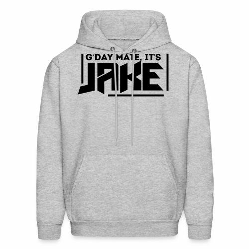 G'Day Mate It's Jake Black Logo - Men's Hoodie
