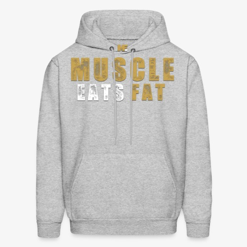 Muscle Eats Fat Tank Top (Saints Gold) - Men's Hoodie