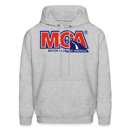 MCA_Logo_WBG_Transparent - Men's Hoodie