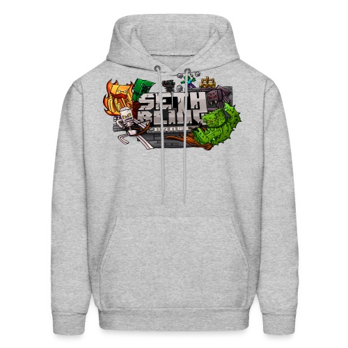 Seth SCB Fixed png - Men's Hoodie
