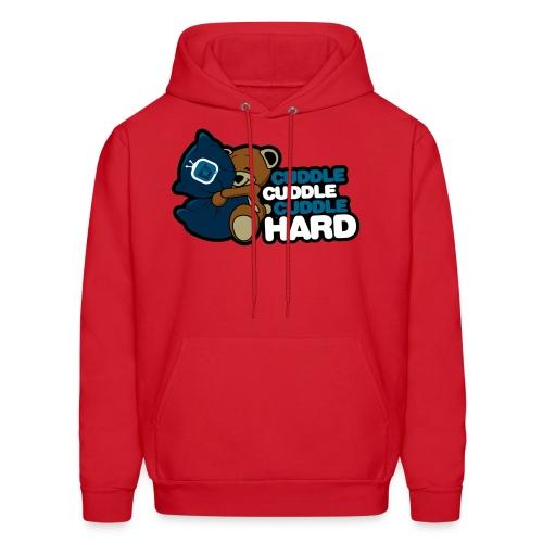 dtcuddle new2 copy - Men's Hoodie