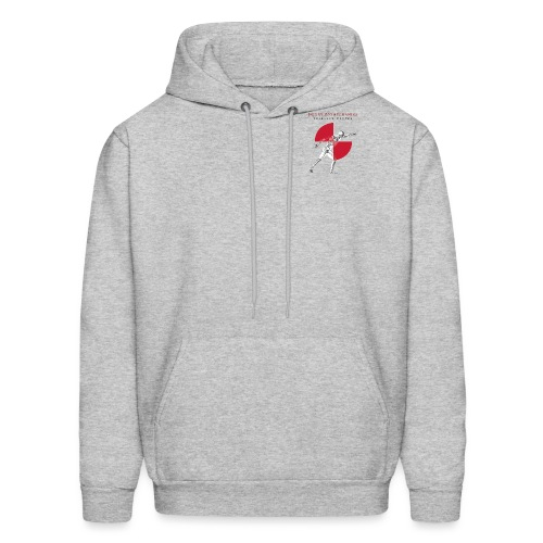 IBRC Pocket Logo with Buckle Up Brutus on Back - Men's Hoodie