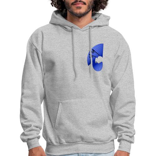 Matty Mohawk Logo Front & Back - Men's Hoodie