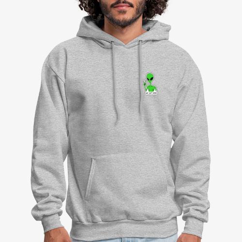GREEN ALIEN - Men's Hoodie