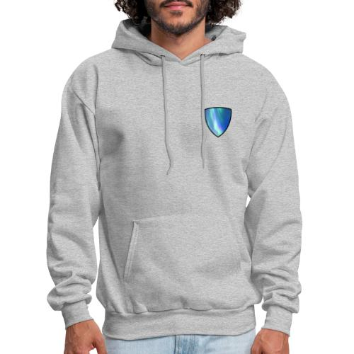 Aurora Intel shield without text - Men's Hoodie