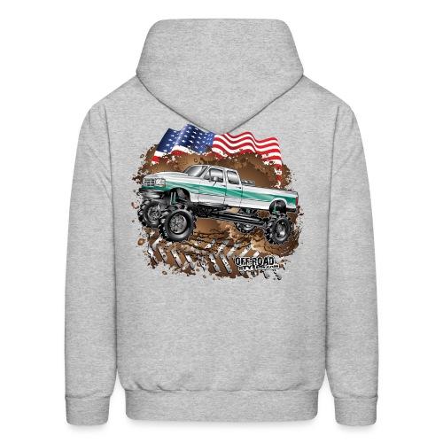 Ford Bronco F350 Mega Truck - Men's Hoodie
