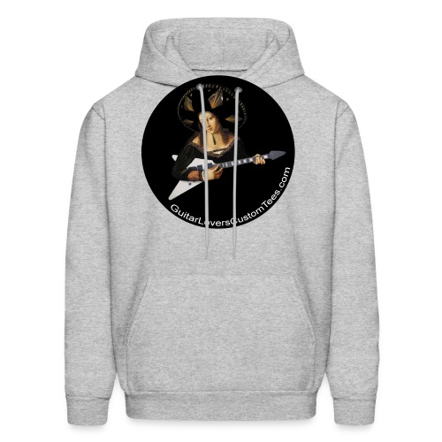 BigHatGuitar by GuitarLoversCustomTees png - Men's Hoodie