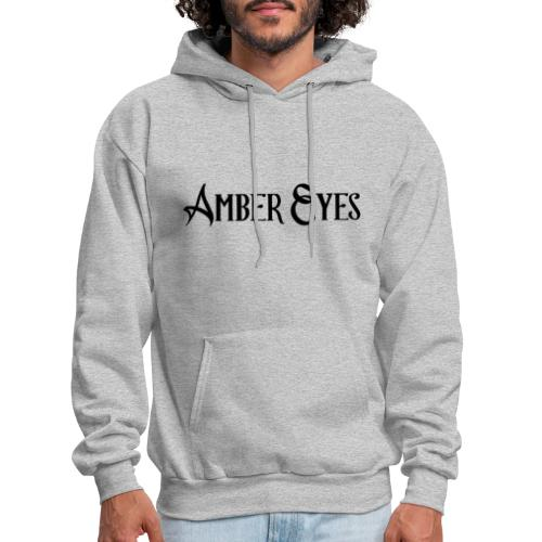 AMBER EYES LOGO IN BLACK - Men's Hoodie