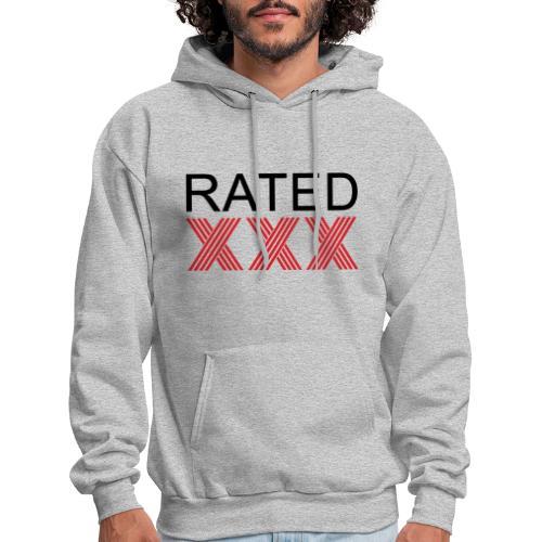 Rated XXX - Men's Hoodie