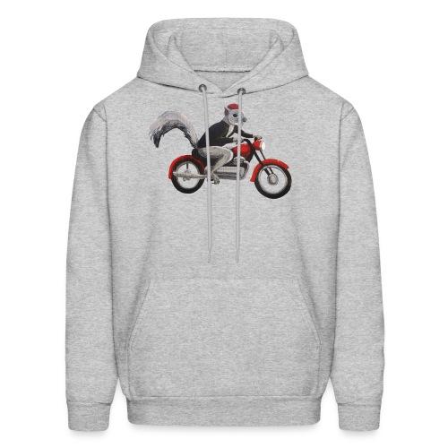Speedbike Squirrel - Men's Hoodie