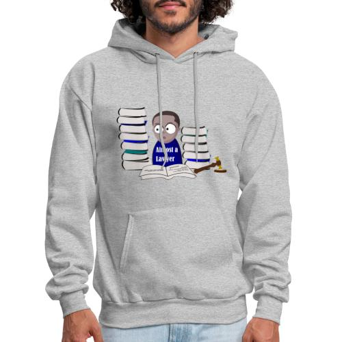 Almost a Lawyer Man African american - Men's Hoodie