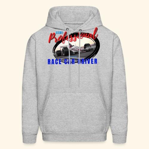 semi pro indy pretend race car driver - Men's Hoodie