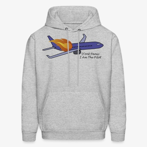 Don't Panic I Am The Pilot - Men's Hoodie