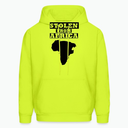 STOLEN FROM AFRICA LOGO - Men's Hoodie