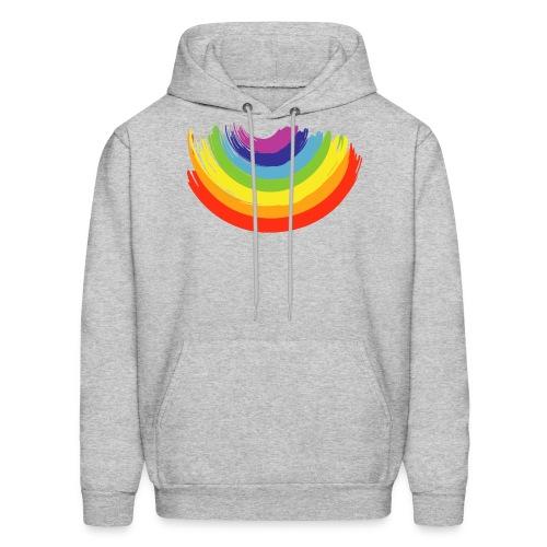 Rainbow Smile - Men's Hoodie