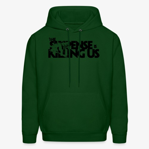Suspense Is Killing Us Logo Black - Men's Hoodie