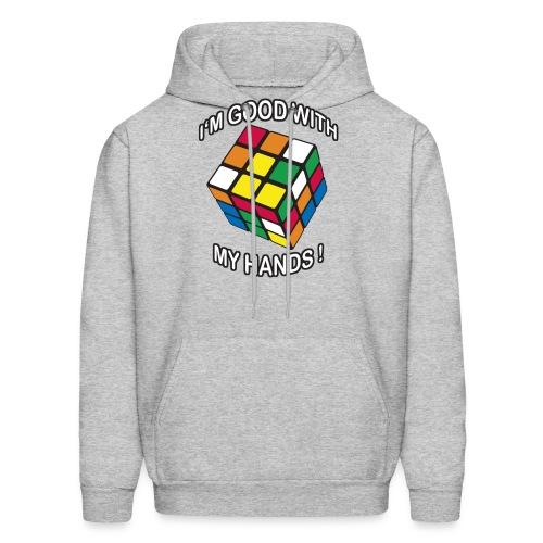 Rubik's Cube Good With My Hands - Men's Hoodie