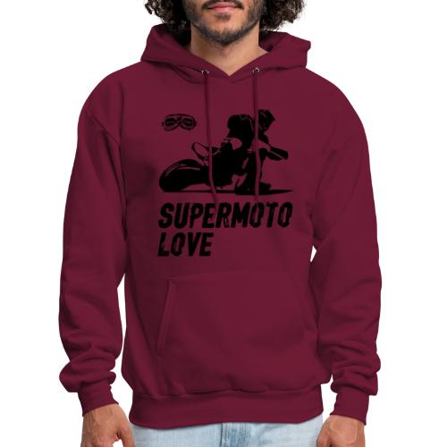 Supermoto Love - Men's Hoodie