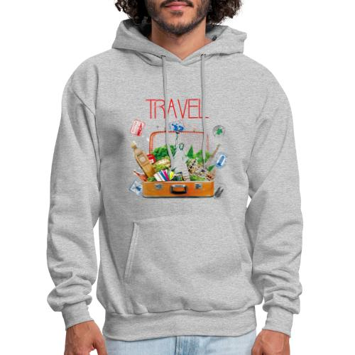 TRAVEL T-SHIRT - Men's Hoodie