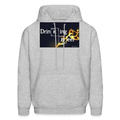 Drinking Beer - Men's Hoodie