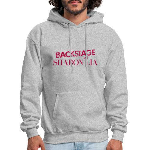 Backstage With Sharon Lia - Red - Men's Hoodie