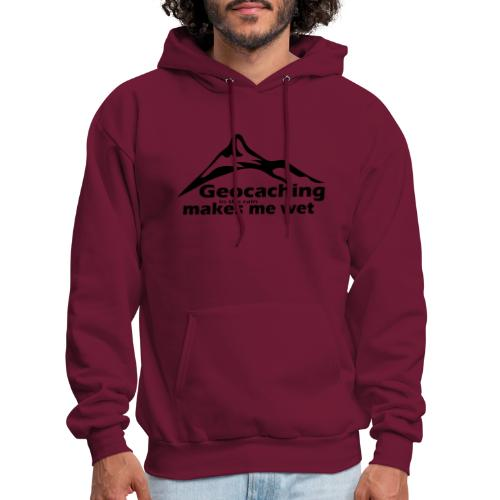 Wet Geocaching - Men's Hoodie